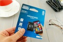 Karta pamięci micro SD 8GB - myPhone Hammer Iron 2 Klasy prędkości C4