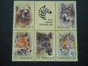 ZSRR - Mi.nr 5877-81 sześcioblok - zwierzęta **
