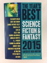 The Year's Best Science Fiction & Fantasy 2015