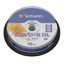 DVD+R DL VERBATIM 8,5GB DO NADRUKU 10szt WaWa FVAT