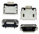 GNIAZDO ZŁĄCZE MICRO USB 5pin+2pin UNIWERSALNE