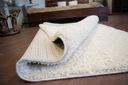 DYWAN SHAGGY 60x60 krem 5cm gładki jednolity Rodzaj shaggy