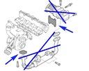 42/2 Zestaw zaślepka EGR Fiat Alfa 1.9 2.4 JTDM Producent części Tafmet