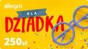 Karta Podarunkowa Dla Dziadka - 250 zł