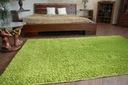 DYWAN SHAGGY 5cm zielony 50x150 jednolity miękki Wzór jednobarwny