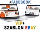 RESPONSYWNY szablon EBAY - VIP+, FACEBOOK, f.vat