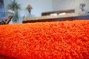 MIĘKKI DYWAN SHAGGY 5cm 100x150 pomarańcz @10640 Grubość 50 mm