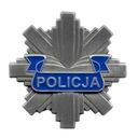 Policyjna ODZNAKA BLACHA POLICJI GWIAZDA 40 mm