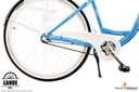 Rower miejski 28 LANDE Savana Nexus Alu biało-róż Waga 16 kg