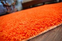 DYWAN SHAGGY 5cm 200x200 pomarańcz KAŻDY RO @10649 Przeznaczenie do wnętrz