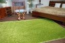 DYWAN SHAGGY 5cm zielony 40x100 gładki jednolity Długość 100 cm