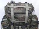 POLSKI Plecak Górski Turystyczny Górski 80L STELAŻ Materiał dominujący codura