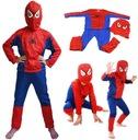 * Человек-паук костюм костюм маска 104 110 116 122 доставка товаров из Польши и Allegro на русском