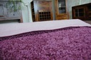 DYWAN SHAGGY 5cm fiolet 80x120 miękki plusz @31645 Szerokość 80 cm