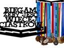 ВЕШАЛКА НА МЕДАЛИ MEDALÓWKA БЕГАЮ 6 доставка товаров из Польши и Allegro на русском