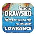 Jezioro Drawsko mapa na echosondy Lowrance Simrad
