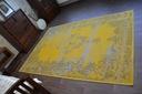 DYWAN VINTAGE 140x200 ROZETA żółty TRADYCJA #B100 Materiał wykonania polipropylen