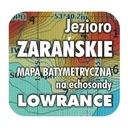 Jezioro Zarańskie mapa na echosondy Lowrance BG