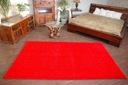 DYWAN SHAGGY 70x100 5cm czerwony miękki jednolity Kolor odcienie czerwieni