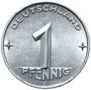 Германия DDR - монета - 1 Pfennig 1953 Года, А - БЕРЛИН доставка товаров из Польши и Allegro на русском