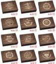 Pudełko drewniane na obrączki vintage ślub GRAWER Cechy dodatkowe możliwość wykonania graweru/napisu