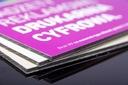 Tablica reklamowa A4 dibond 3 mm druk UV CMYK