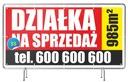 Baner Reklamowy Sprzedam DOM/Działkę/Mieszkanie EAN 9876821188132