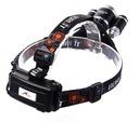 LATARKA CZOŁOWA 3 LED CREE XM-L T6 CZOŁÓWKA 2X AKU Cechy dodatkowe klips do mocowania kurzoodporność wodoodporność wstrząsoodporność
