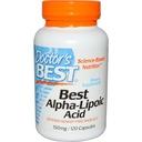 DOCTOR'S BEST KWAS ALFA LIPONOWY ALA - 120k vege