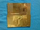 Banknot Pozłacany 24 karat 5.Euro