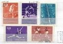 ZSRR zestaw znaczków kasowanych Sport