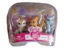 BARBIE LUV ME 3 małe kotki 3 sztuki