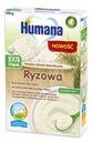 Humana 100% Organic Kaszka bezmleczna ryżowa 200g