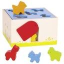 Sorter do zabawy dla dzieci - Dom dla zwierząt