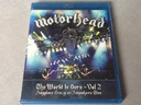 Motorhead The World Is Ours Vol. 2 blu ray
