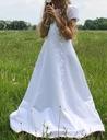 Piękna klasyczna sukienka komunijna + akcesoria