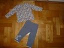 NEXT fajne getry + bluzeczka M&S dla Niuni 80