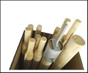 Set of Wooden Poles for A-Tent 230