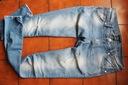 nowe spodnie rurki jeansy dziury M/L