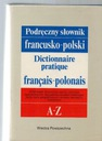 Podręczny słownik francusko-polski A-Z wyd. WP