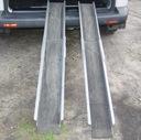 Rampa podjazd wózek inwalidzki składany