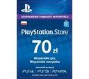 Karta PlayStation Store 70 zl