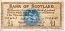 Szkocja 1 Pound 1961 P-102a.1