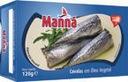 Mini makrele portugalskie w oleju 120g Manna