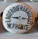 Porcelanka W.Franke Lagerbierbrauerei