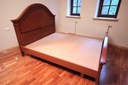 Łóżko drewniane - rama i materac - WAWA