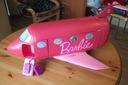 Barbie Duży Samolot z basenem i hamakiem + 2 lalki