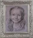Artystyczny portret na zamówienie format A4 ołówek