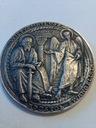 Medal Oryginał Srebro pr 925 Święty Mateusz 42gram