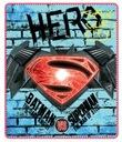 Koc polarowa BATMAN vs Superman 120x140 WYPRZEDAZ